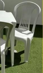 Cadeira plástica (Novas de fabrica)