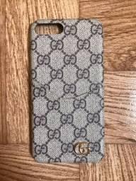 Capas Capinhas de Luxo Gucci Louis Vuitton iPhone 7 Plus 8 Plus