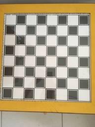 Jogo de damas TAM 46 x 47 madeira