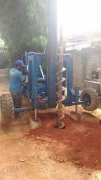 Perfuratriz elétrica para estaca escavada