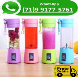 Mini Liquidificador Portátil Shake N Take Juice Cup Recarregavel (NOVO)