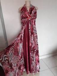 Vestido longo tamanho 50