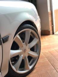 Rodas 18 santorine, aceito 15 da Volkswagen lega leve