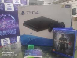 PS4 slim seminovo  + jogos e garantia loja