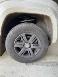 Roda 16  amarok pneu 265/65/17