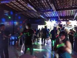 Título do anúncio: dj som iluminação telão projetor festas e eventos sonorização