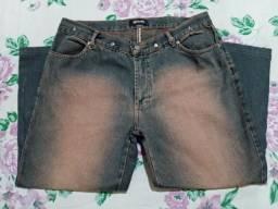 Título do anúncio: Calça Jeans Capri - Tamanho 46