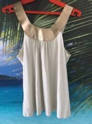Título do anúncio: Blusa sem alça bege