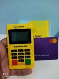 Máquininha de cartão minizinha PagSeguro nfc