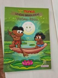 Livro Vitória-Régia, lendas brasileiras