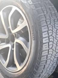 Rodas aro 16 pneus em estado de novo