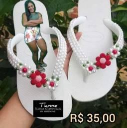 Vendo sandáliascustomizadas