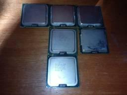 processadores ddr2 diversos lga775