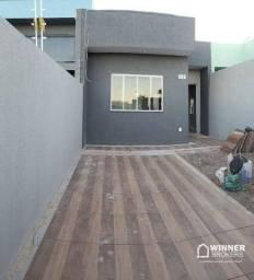 Casa com 2 dormitórios à venda, 53 m² por R$ 150.000,00 - Jardim Pio XII - Campo Mourão/PR
