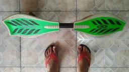 Skate Duas 2 Rodas Waveboard Longboard Surf