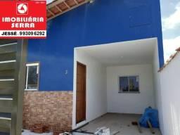 JES 009. Vendo casa nova em Jacaraípe há 2km da praia. Área útil 60M², Área total 100M²