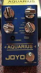 Pedal joyo delay/looper Aquarius R$ 800,00 whats *
