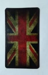Quadro: Bandeira Inglaterra Retrô-Vintage