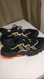 Tênis adidas Owzeego refletivo