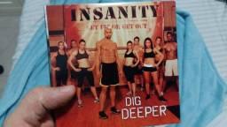 Colecao de DVDs Insanity -  4 DVD's