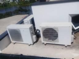 Ar condicionado instalação e manutenção de todas marcas