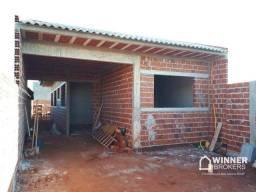 Casa com 2 dormitórios à venda, 70 m² por R$ 200.000 - Jardim João Marcos - Mandaguaçu/PR