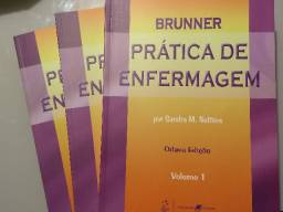 Coleção Prática De Enfermagem - Brunner - Vol. 1,2,3