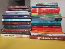 Lote - livros variados  c/ *brinde (na descrição)