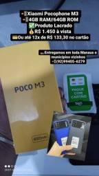 Telefone Xiaomi Poco M3 LACRADO