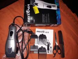 Máquina de cortar cabelo britânia
