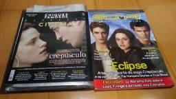 Lote com 35 revistas, posteres e documentos da saga Twilight - Crepúsculo