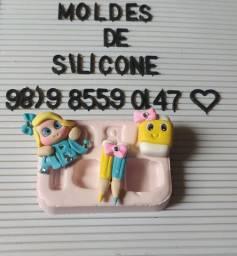 Molde de silicone