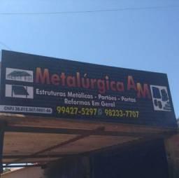 Estruturas metálicas- portões-portas