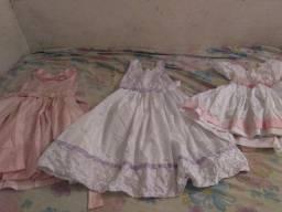 Vestido de festa infantil usado apenas uma vez