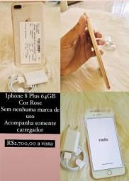 Vendo iPhone 8 Plus 64 giga 2500