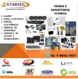 Vendas e assistencia tecnica portoes, alarmes, cercas eletricas, cameras