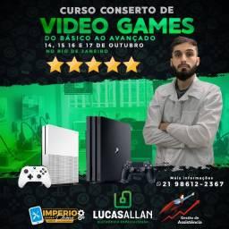 Aprenda Consertar Video Games Playstation e Xbox !