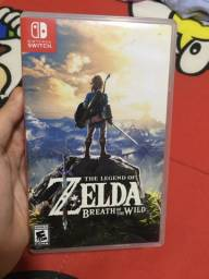Jogo Zelda Breath of the Wild BOTW Nintendo Switch
