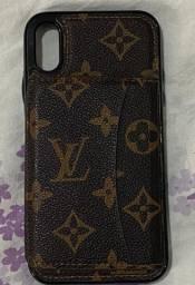 Case Carteira De Couro Louis Vuitton - iPhone XR
