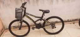 Bicicleta caloi Max front preta