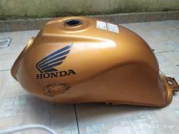 Tanque combustível original Titan Mix 2009 laranja