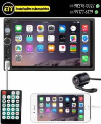 Mp5 First Option 7810H Espelhamento Bluetooth (Instalado)