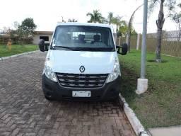 Renault Master 2013/2014, Branca, versão chassi cabine, motor 2.3 16v, com 127mil km