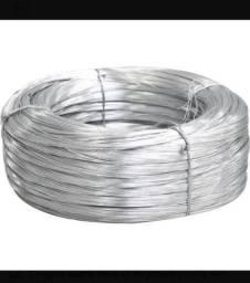 Arame zincado trefilado 0,7 0,8 e 1mm