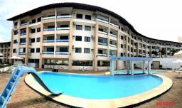 Marino Beach no Porto das Dunas, apartamento Duplo mobiliado, 3 quartos, 2 vagas