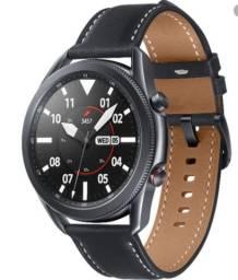 Samsung Galaxy Watch 3 45mm LTE (4G) Preto - Versão Brasileira, Anatel, Anvisa