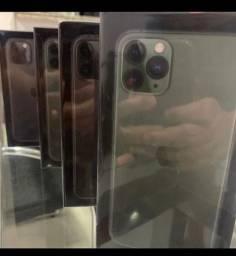 Loja física. iPhone 11 Pro max lacrados caixa completa com fone carregador loja aberta!