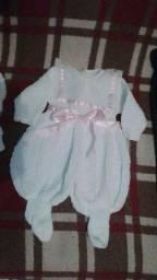 Saída de maternidade + vestido