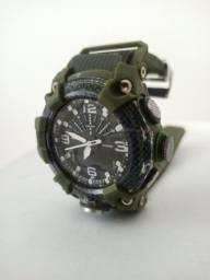 Relógio g shock camuflado