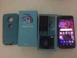 Smartphone Moto X4 32GB Resistente a Água até 1,5m Capa Caixa Película filma 4k